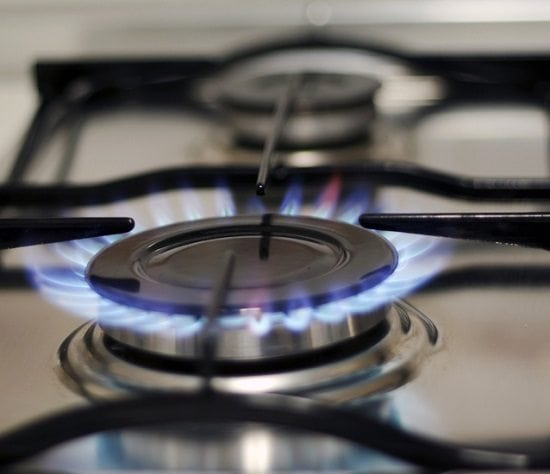 Gas Stovetop Flame